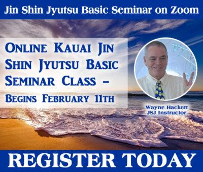 Online Kauai Jin Shin Jyutsu Basic Class