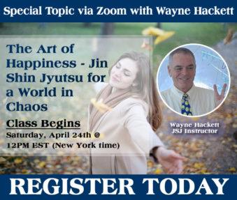 The Art of Happiness – Jin Shin Jyutsu for a World in Chaos